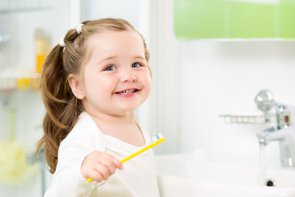 Developing oral care habits in your children